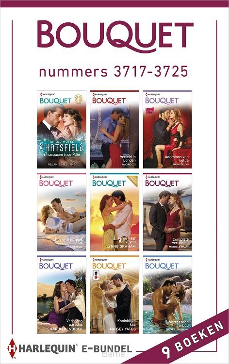 Bouquet e-bundel nummers 3717-3725 (9-in-1)