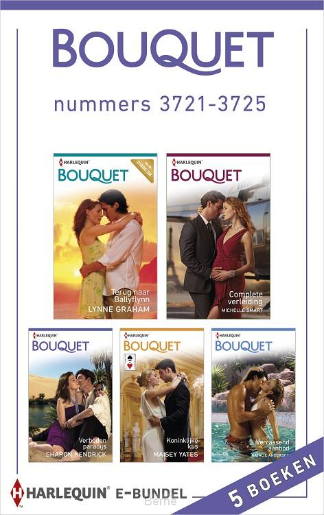 Bouquet e-bundel nummers 3721-3725 (5-in-1)