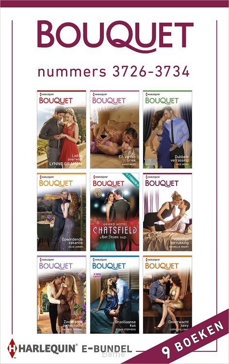 Bouquet e-bundel nummers 3726-3734 (9-in-1)