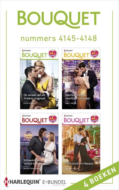 Bouquet e-bundel nummers 4145 - 4148