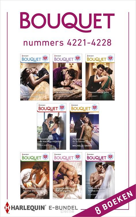 Bouquet e-bundel nummers 4221 - 4228