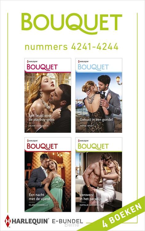 Bouquet e-bundel nummers 4241 - 4244