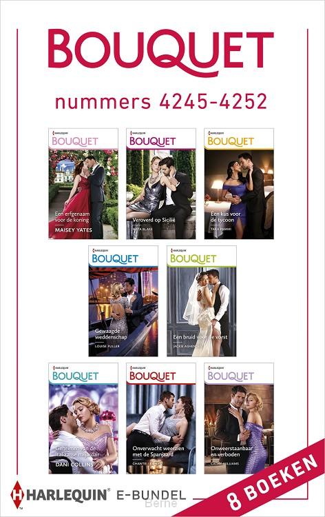 Bouquet e-bundel nummers 4245 - 4252