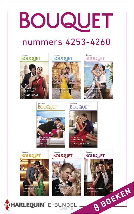Bouquet e-bundel nummers 4253 - 4260