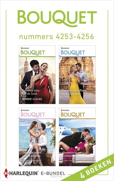 Bouquet e-bundel nummers 4253 - 4256