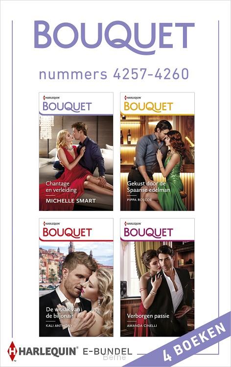 Bouquet e-bundel nummers 4257 - 4260