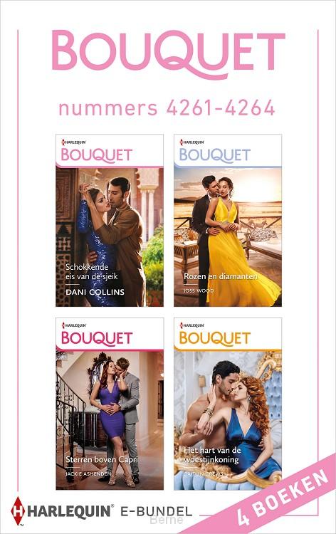 Bouquet e-bundel nummers 4261 - 4264