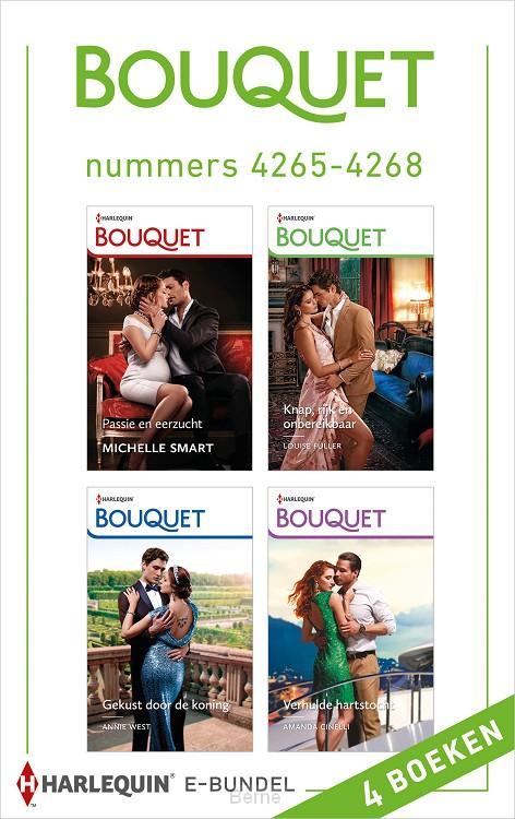 Bouquet e-bundel nummers 4265 - 4268