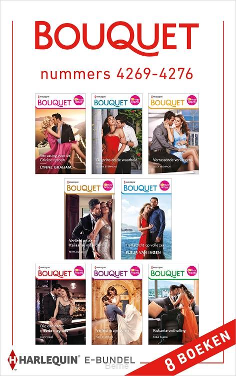 Bouquet e-bundel nummers 4269 - 4276