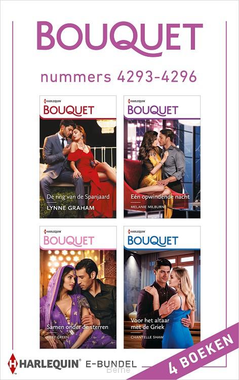 Bouquet e-bundel nummers 4293 - 4296