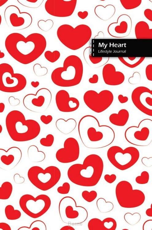 My Heart Lifestyle Journal, Write-in wide-ruled 180 Pages with Dotted Lines