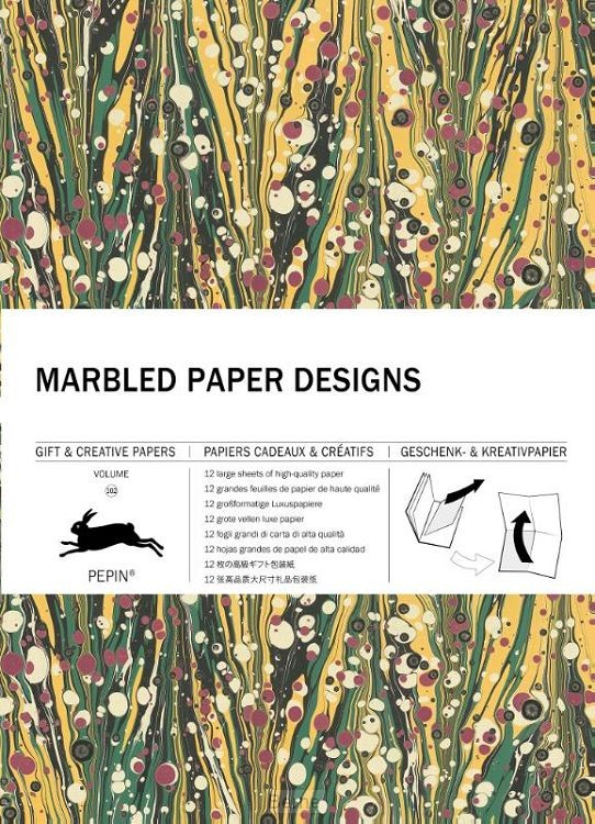 Marbled Paper Designs / Volume 102