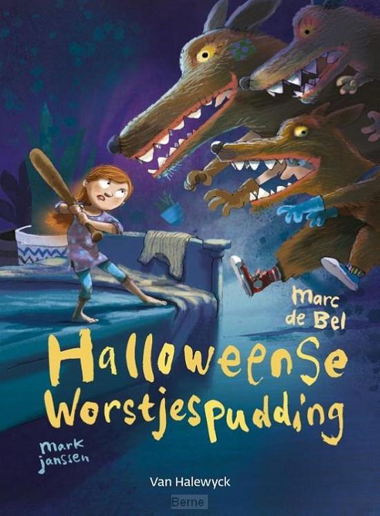 Halloweense worstjespudding