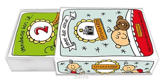 Fotokaarten in Schuifdoos - Babette