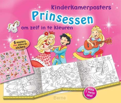 Prinsessen kinderkamerposters 4 ex.