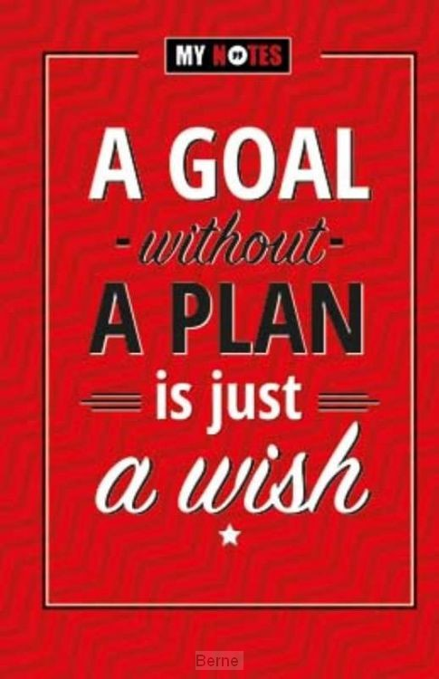A goal without a plan is just a wish set 3ex.