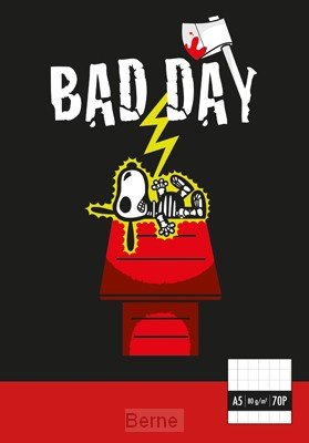Bad day notebook A5