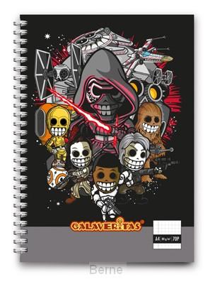 Space warriors notebook A4