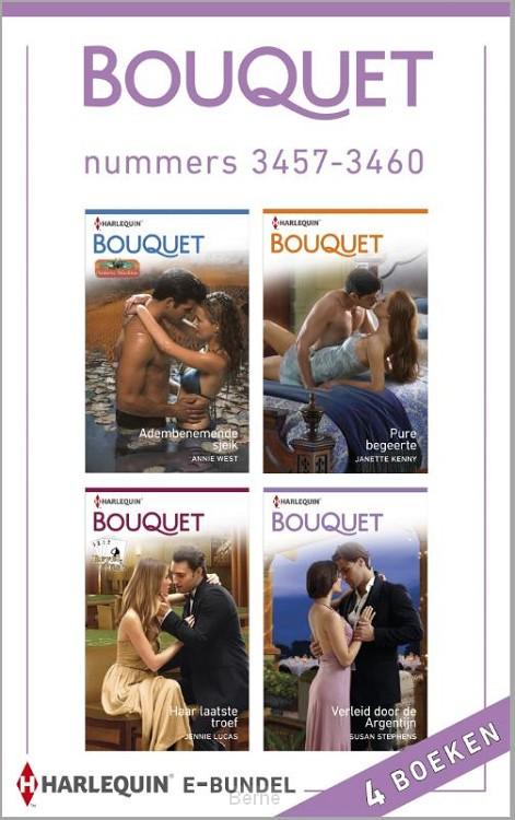 Bouquet e-bundel nummers 3457-3460 (4-in-1)