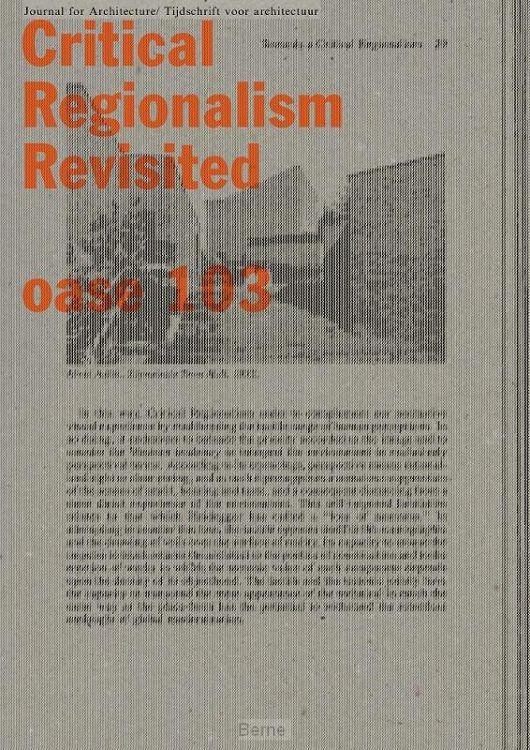 Critical Regionalism Revisited