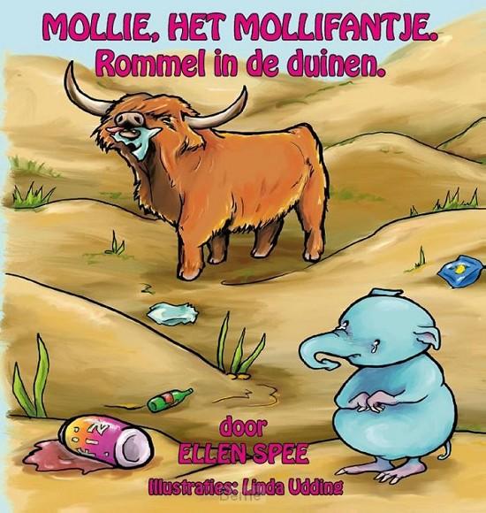 Mollie, het Mollifantje / 2 Rommel in de duinen