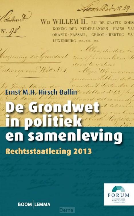 De grondwet in politiek en samenleving