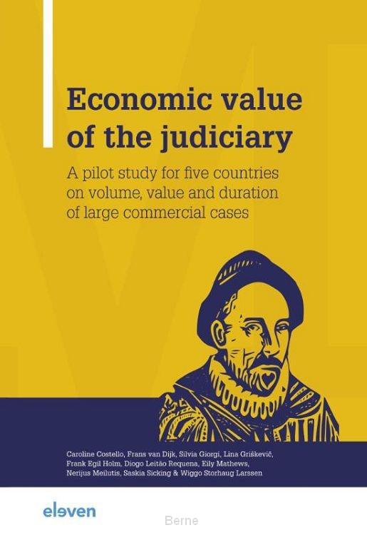 Economic value of the judiciary