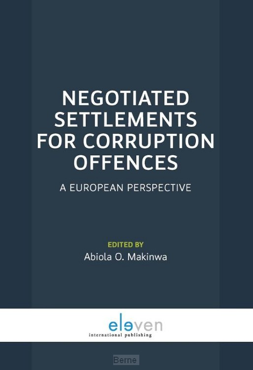 Negotiated settlements for corruption offences