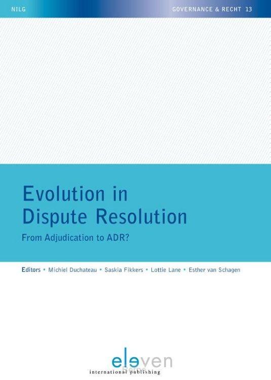 Evolution in dispute resolution