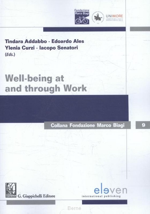 Well-being at and through work