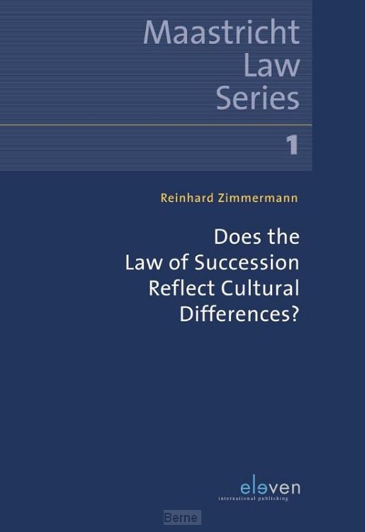 Does the Law of Succession Reflect Cultural Differences?