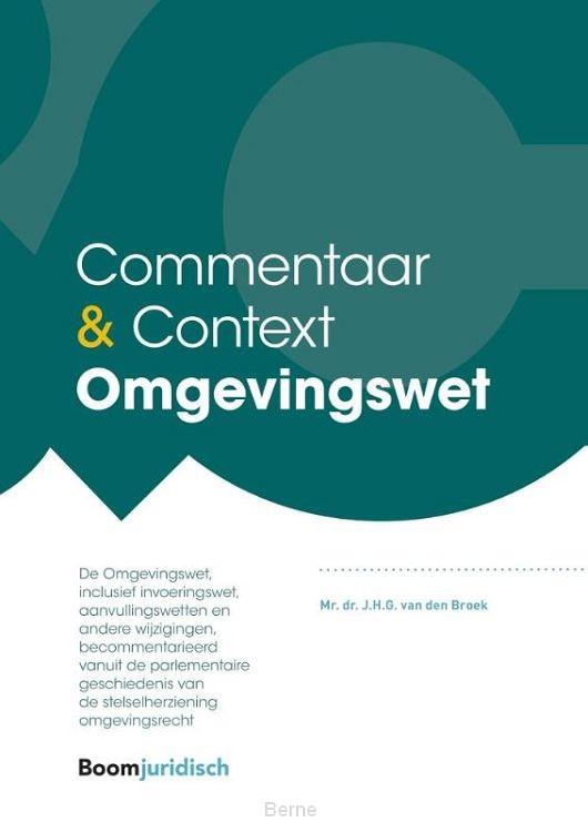Commentaar & Context Omgevingsrecht en Overgangsrecht