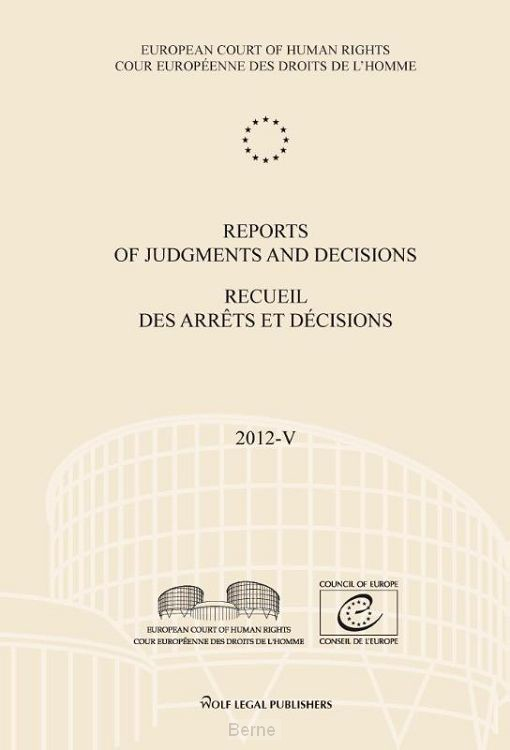 Reports of judgments and decisions / 2012-V