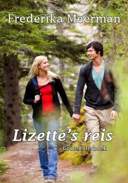 Lizette's reis - Groteletterboek
