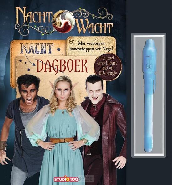 Nachtwacht : dagboek met pen