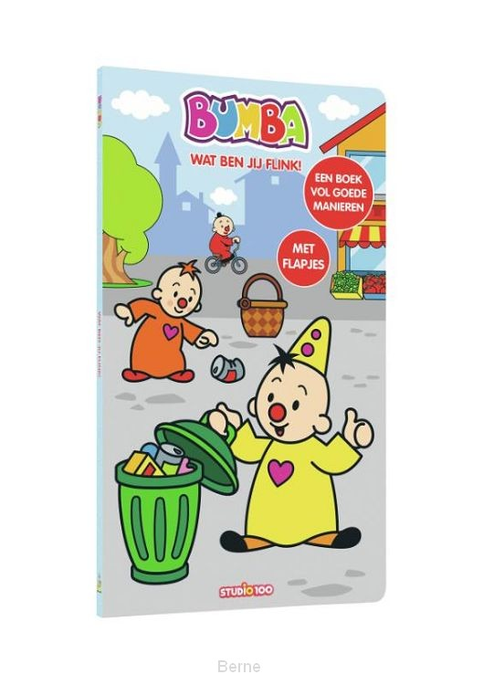 Bumba kartonboekje : Wat ben jij flink !