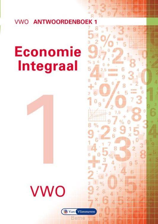 vwo / Economie integraal / Antwoordenboek 1