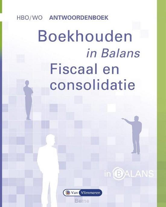 Boekhouden in Balans - Fiscaal en Consolidatie