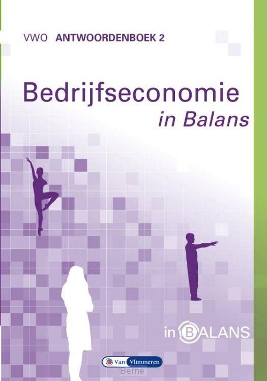 vwo / Bedrijfseconomie in Balans / Antwoordenboek 2