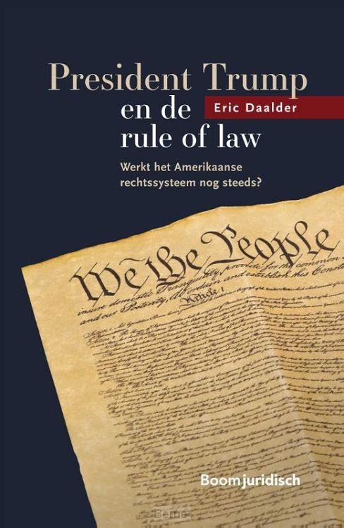 President Trump en de rule of law