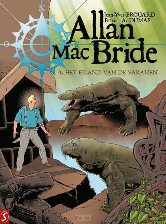 Allan Mac Bride 4: Het eiland van de varanen