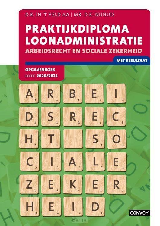 2020-2021 / Praktijdiploma Loonadministratie / Opgavenboek