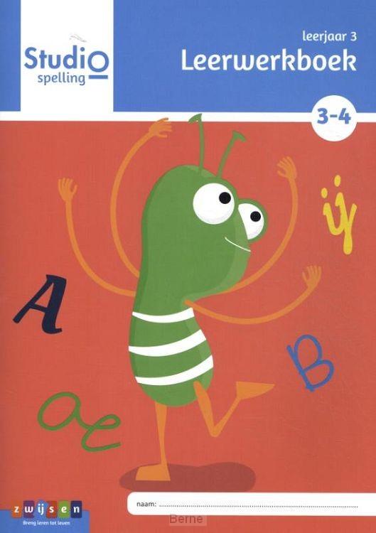 Leerjaar 3 blok 3 en 4 / Studio Spelling / leerwerkboek