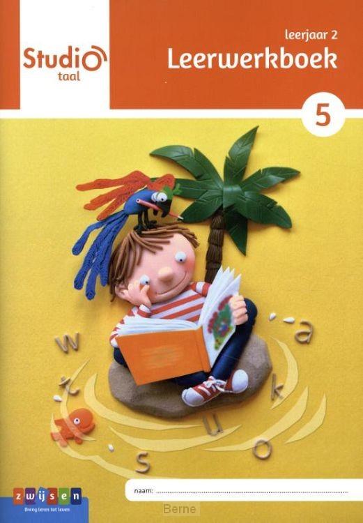 Leerjaar 2 blok 5 / Studio Taal / Leerwerkboek