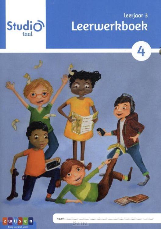 leerjaar 3 blok 4 / Studio Taal / leerwerkboek