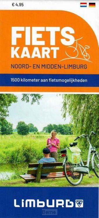 Fietskaart Noord- en Midden-Limburg 5 exemplaren