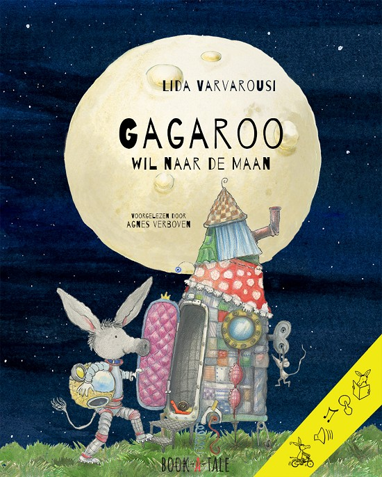 Gagaroo wil naar de maan