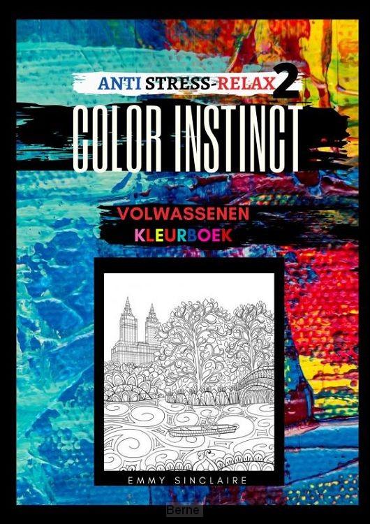 Volwassenen kleurboek Color Instinct 2 : Anti Stress Relax gebouwen