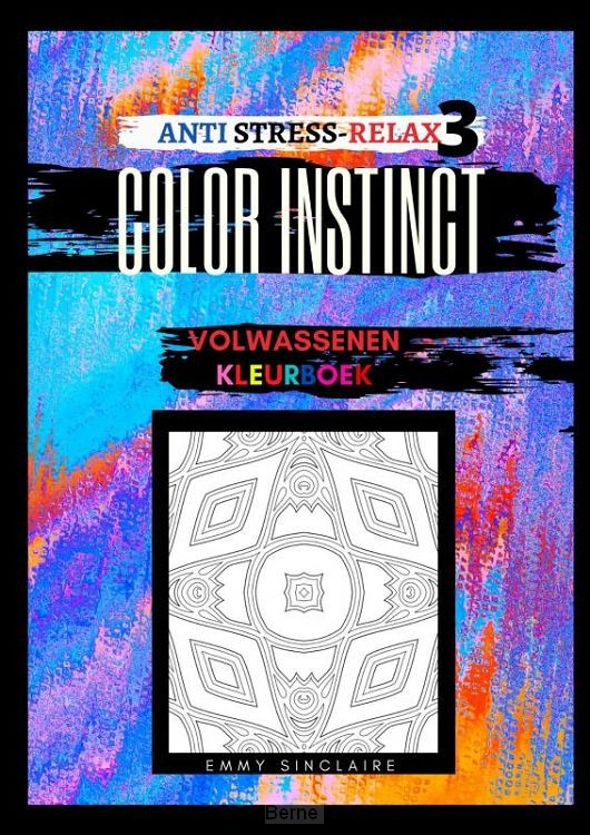 Volwassenen kleurboek Color Instinct 3 : Anti Stress Relax Illusies