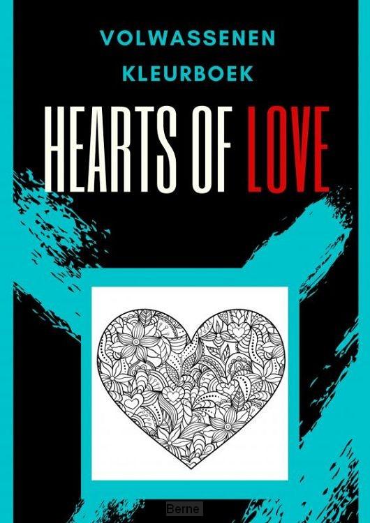 Volwassenen kleurboek : Hearts Of Love